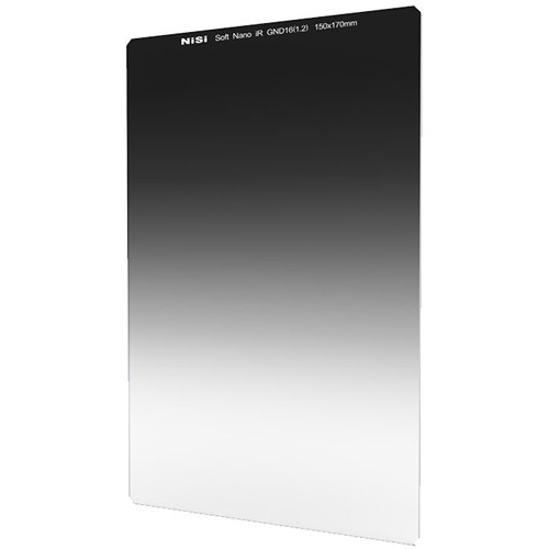 NiSi 150 x 170mm Nano Soft-Edge Graduated IRND 1.2 Filter (4-Stop)