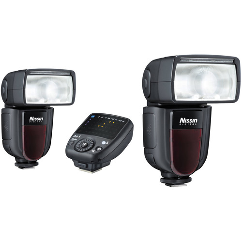 Nissin Di700A Two Flash Kit with Air 1 Commander for Fujifilm Cameras