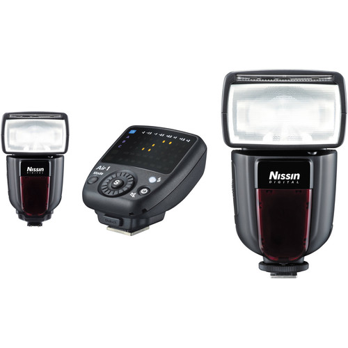 Nissin Di700A Two Flash Kit with Air 1 Commander for Sony Cameras