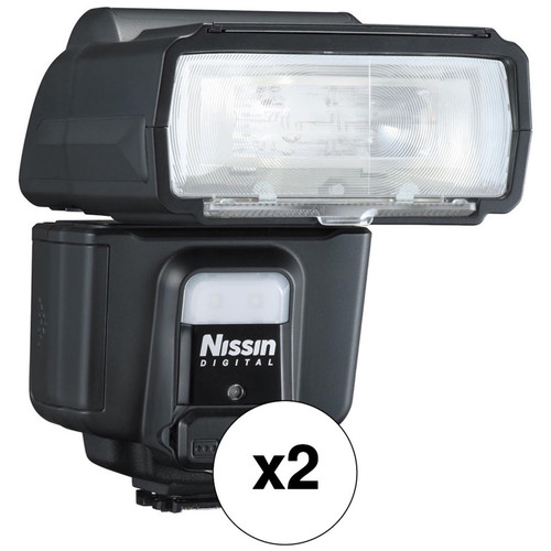 Nissin i60A Two Flash Kit for Sony Cameras