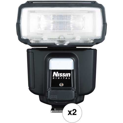 Nissin i60A Two Flash Kit for Micro Four Thirds Cameras