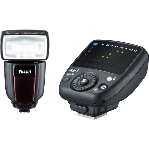 Nissin Di700A Flash Kit with Air 1 Commander for Sony Cameras with Multi Interface Shoe