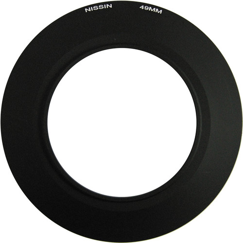 Nissin 49mm Adapter Ring for MF18 Macro Flash