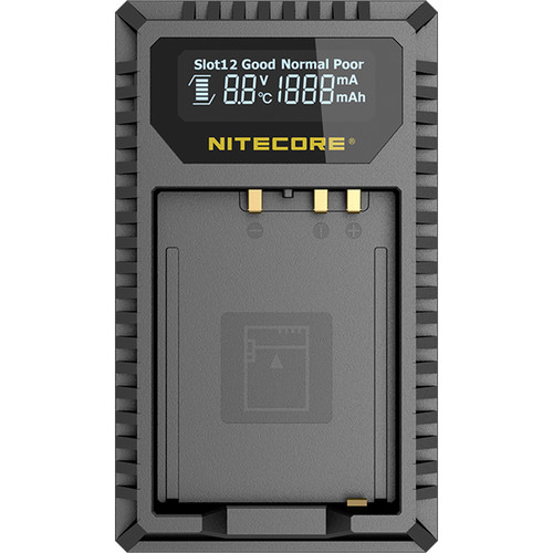 Nitecore FX1 Dual-Slot USB Travel Charger for FUJIFILM NP-W126 & NP-W126S Batteries