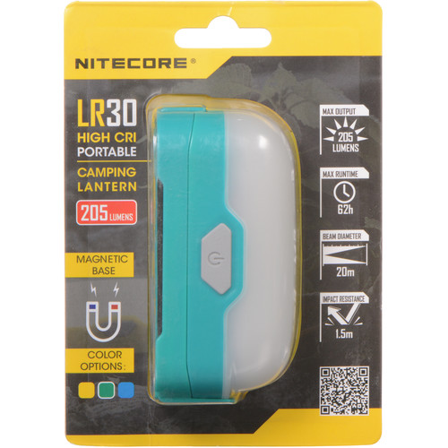 NITECORE LR30 High-CRI Dual-Output Lantern (Jungle Green)