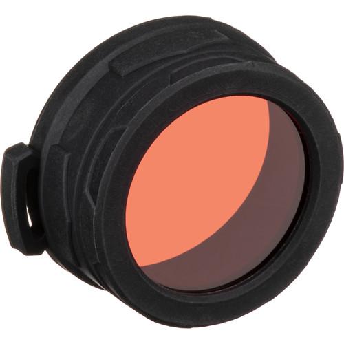 NITECORE 50mm RGB Flashlight Filter (Red)