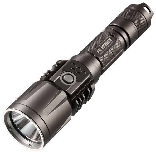 Nitecore P25 Smilodon Rechargeable LED Flashlightv.2 (Black)