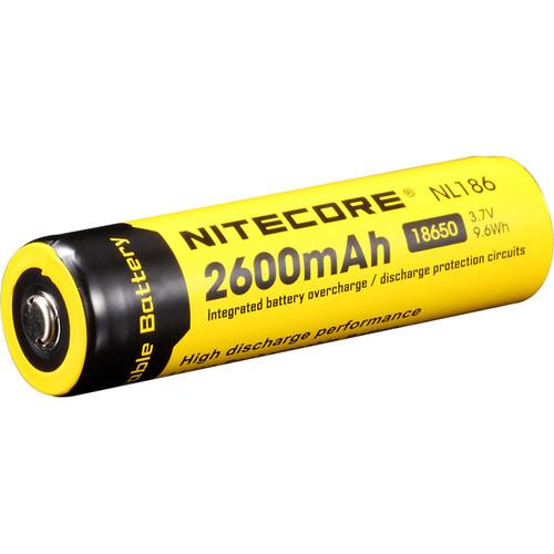 Nitecore Nitecore 18650 Li-Ion Rechargeable Battery (3.7V, 2600mAh)