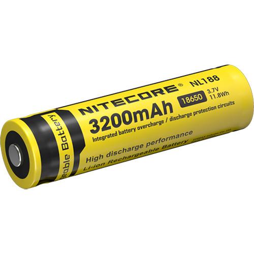 NITECORE Nitecore 18650 Li-Ion Rechargeable Battery (3.7V, 3200mAh)