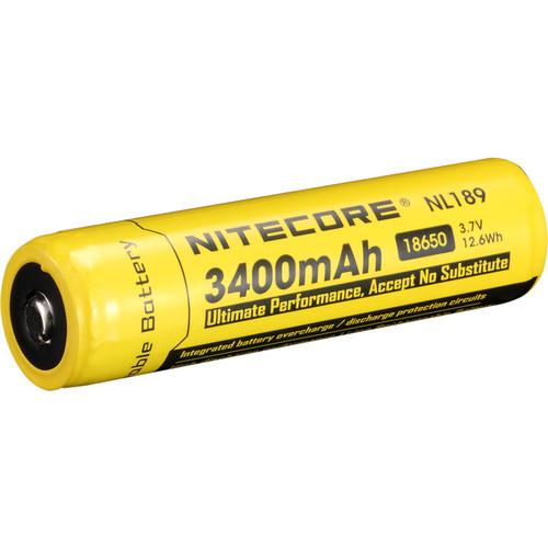 NITECORE Nitecore 18650 Li-Ion Rechargeable Battery (3.7V, 3400mAh)