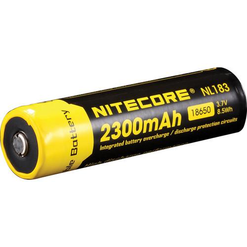 Nitecore 18650 Li-Ion Rechargeable Battery (3.7V, 2300mAh)