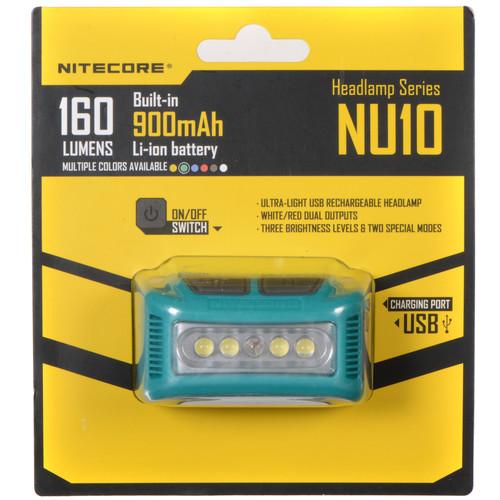 NITECORE NU10 Headlamp (Green)