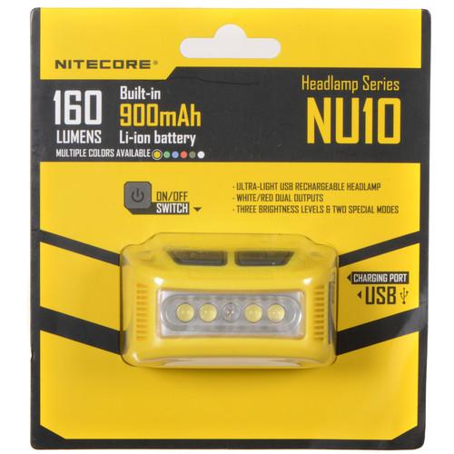 NITECORE NU10 Headlamp (Yellow)