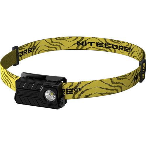 NITECORE NU20 CRI USB Rechargeable LED Headlamp (Black)