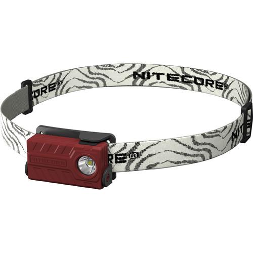 NITECORE NU20 CRI USB Rechargeable LED Headlamp (Red)