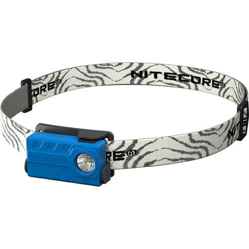 Nitecore NU20 USB Rechargeable LED Headlamp (Blue)