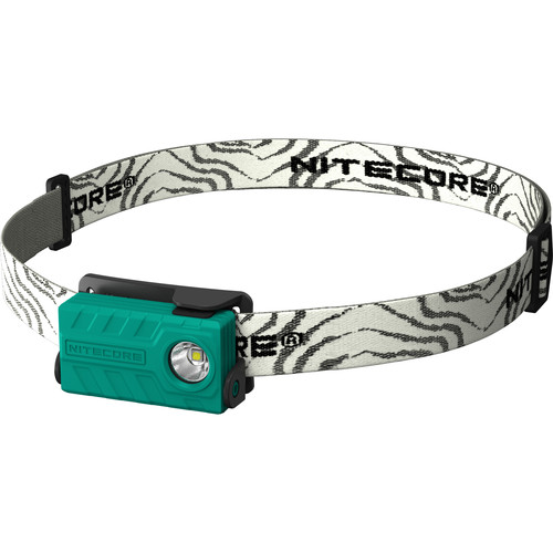 Nitecore NU20 USB Rechargeable LED Headlamp (Green)