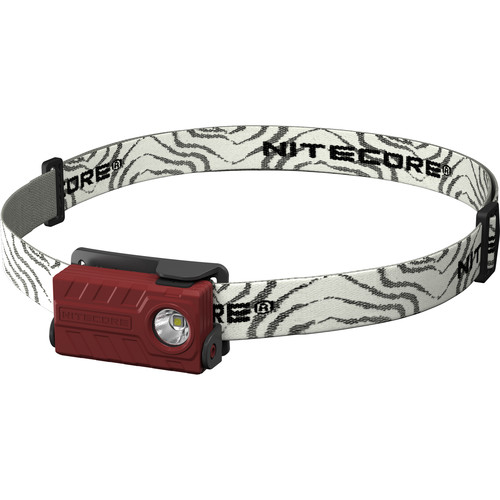 NITECORE NU20 USB Rechargeable LED Headlamp (Red)
