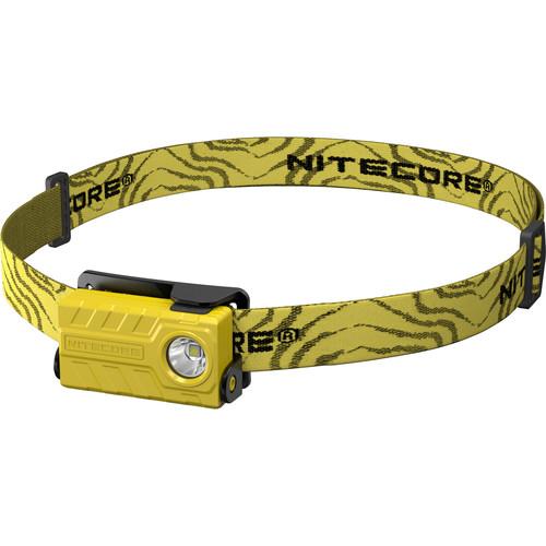 Nitecore NU20 USB Rechargeable LED Headlamp (Yellow)