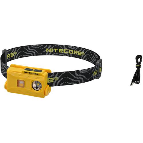 Nitecore NU25 USB Rechargeable LED Headlamp (Yellow)