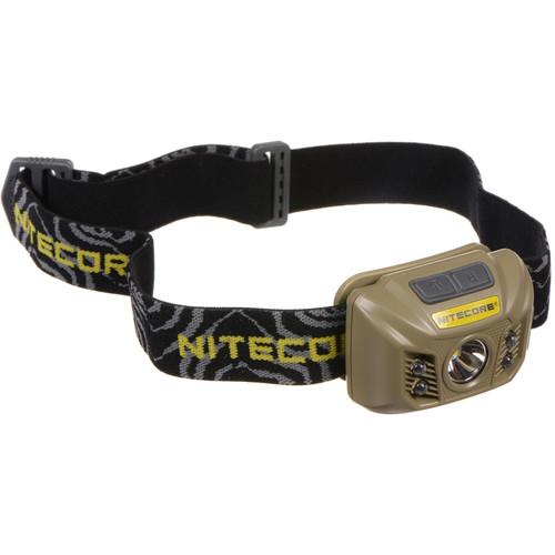 Nitecore NU30 Rechargeable LED Headlamp (Desert Tan)