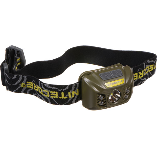 NITECORE NU30 Rechargeable LED Headlamp (Military Green)