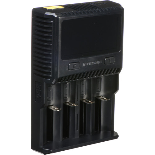 Nitecore SC4 Superb Charger for Lithium-Ion, NiMH, or NiCD Batteries