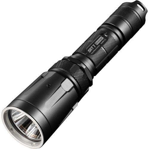 Nitecore SRT7 Revenger Tactical Multi-Color LED Flashlight (Gray)