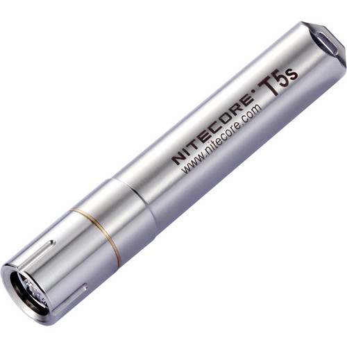 NITECORE T5s Stainless Steel LED Key-Chain Flashlight