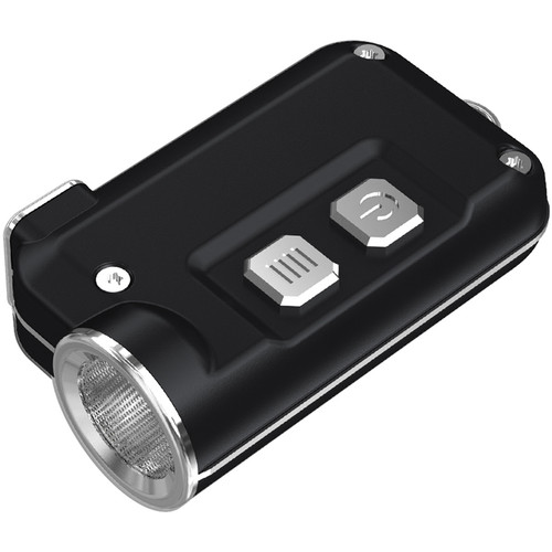 Nitecore Tini Metallic Key Chain Light (Black)
