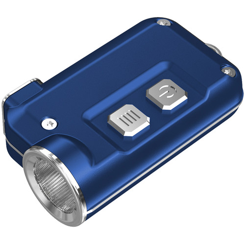 NITECORE Tini Metallic Key Chain Light (Blue)