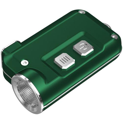 Nitecore Tini Metallic Key Chain Light (Green)