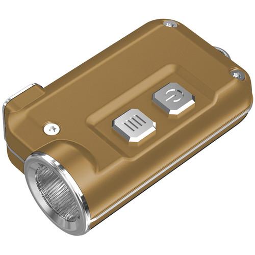 Nitecore Tini Metallic Key Chain Light (Gold)