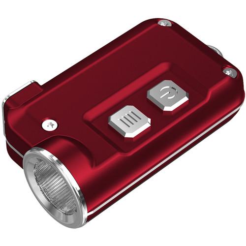 Nitecore Tini Metallic Key Chain Light (Red)