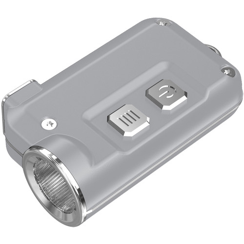 Nitecore Tini Metallic Key Chain Light (Silver)