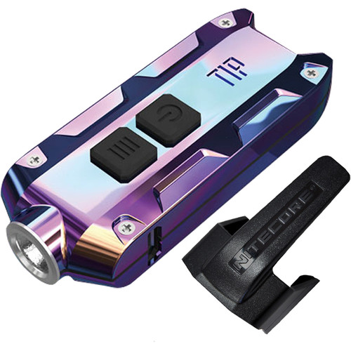Nitecore TIP Rechargeable Metal Keyring Flashlight (Tropical)