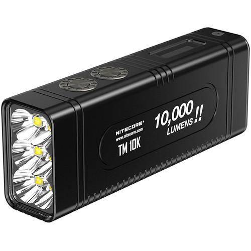 Nitecore TM10K Rechargeable LED Flashlight