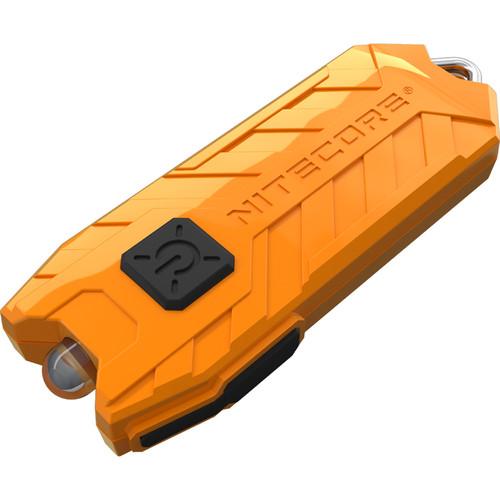 Nitecore TUBE LED Key-Chain Flashlight (Orange)