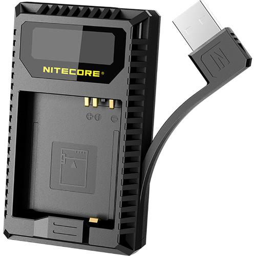 Nitecore UL109 Dual-Slot USB Charger for Leica BP-DC15-E Battery