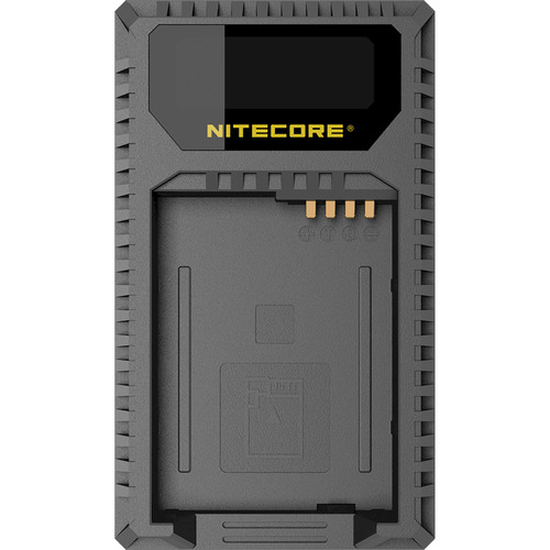 NITECORE USB Travel Charger for Leica Leica's BP-DC12 Battery