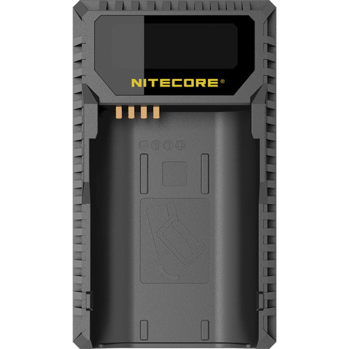 NITECORE USB Travel Charger for Leica's BP-SCL4 Battery