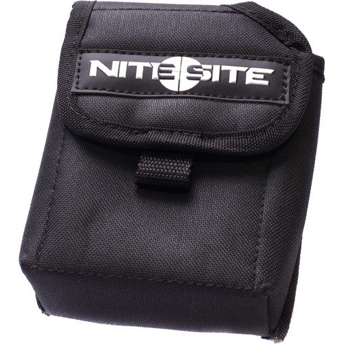 NITESITE Belt Battery Pouch (Black)