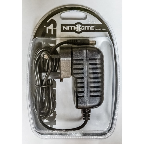NITESITE 0.4A Mains Charger for NiteSite Spotter Extreme Handheld NVD
