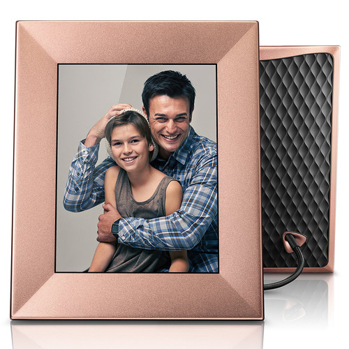 "nixplay Iris 8"" Digital Photo Frame (Peach Copper)"