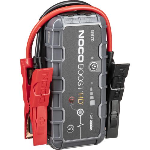 NOCO Genius Boost HD 2000 Amp UltraSafe Jump Starter & Power Pack