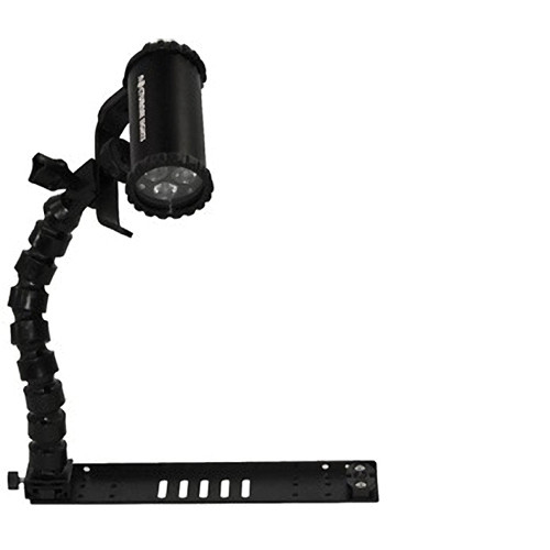 """Nocturnal Lights SLX 800i Light Combo with 12"""" Flex Arm / Tray for Seashell"""
