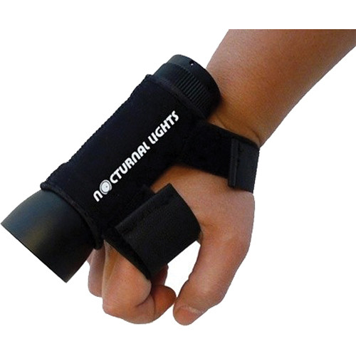 Nocturnal Lights Universal Neoprene Hand Mount with Light Slot (Medium)