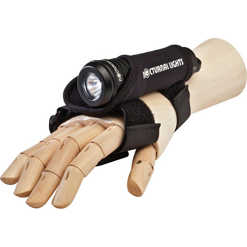 Nocturnal Lights Universal Neoprene Hand Mount with Two Light Slots (Small)