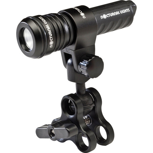 Nocturnal Lights Single M700i LED Add-On Kit with Triple Clamp & Ball Joint Mount