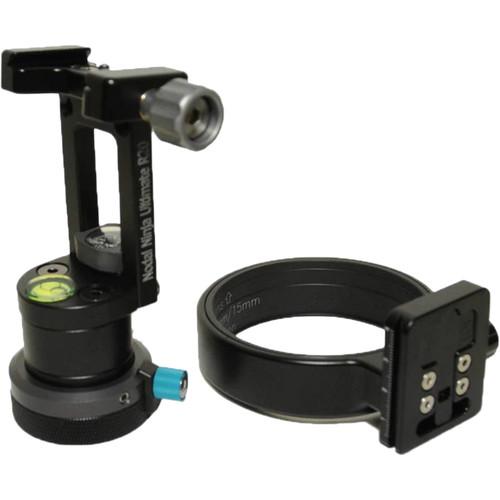 Nodal Ninja R20 Static 2.5/7.5° Tilt Head with Rotator Mini RM4 V2 & Lens Ring for Sigma 8mm f/3.5 EX DG Lens with Canon EF Mount Package